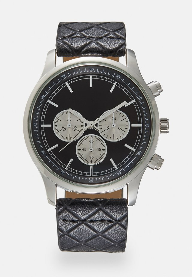 MULTI DIAL WATCH - Rannekello - black