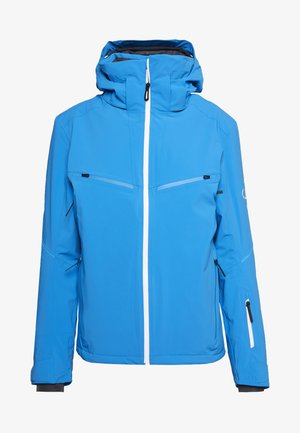 BRILLIANT - Ski jacket - indigo bunting/white