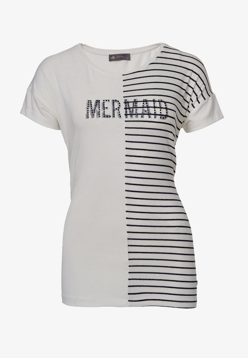 Decay - Print T-shirt - blau