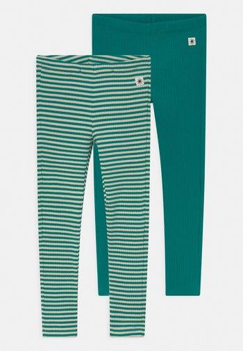 BASIC 2 PACK UNISEX - Leggings - Trousers - green