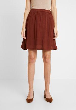 KADALUZ ANNA SKIRT - A-line skirt - cherry mahogany