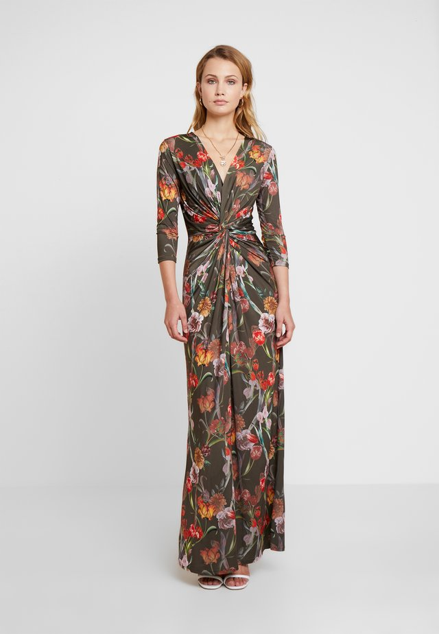 DRESS - Maxi dress - army