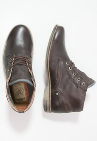 Sneaky Steve - CRASHER - Lace-up ankle boots - brown jamarta - 1