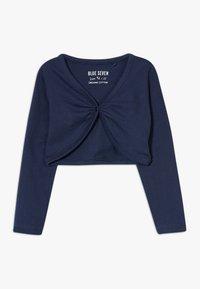 Blue Seven - BOLERO 3 PACK - Cardigan - weiß/rosa/dunkelblau - 3