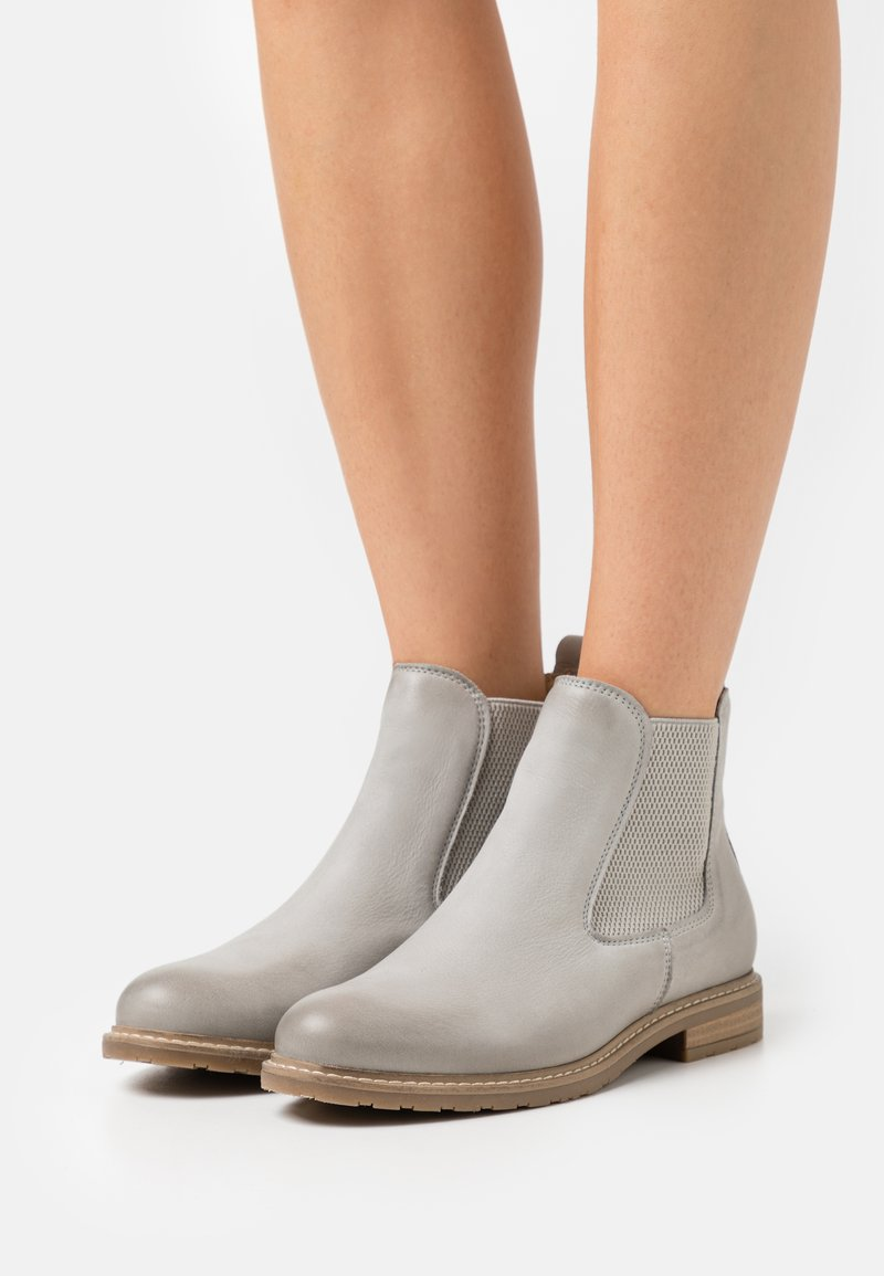 Tamaris - Classic ankle boots - light grey