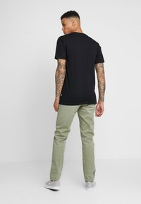 Cleptomanicx - EMBRO GULL - T-shirt - bas - black - 2