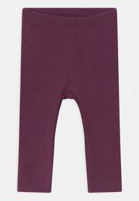 Name it - NBFRIHNE NBFROSEMARIE SET - Leggings - Trousers - deauville mauve/italian plum - 2