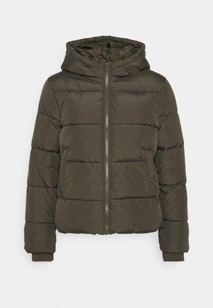 PCBEE NEW SHORT JACKET - Winter jacket - black olive