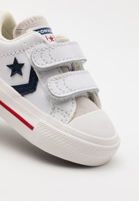 Converse - STAR PLAYER UNISEX - Trainers - white/midnight navy/gym red - 5