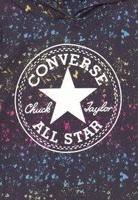 Converse - CROPPED HOODIE - Felpa con cappuccio - black - 2