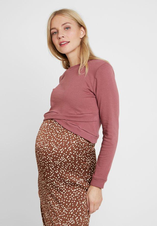 Sweater - violet pink