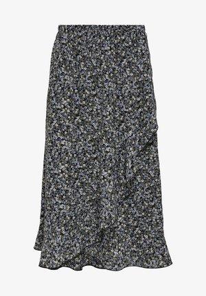 ONLCARLY  - Wrap skirt - blue