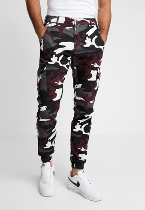 PANTS 2.0 - Cargo trousers - wine