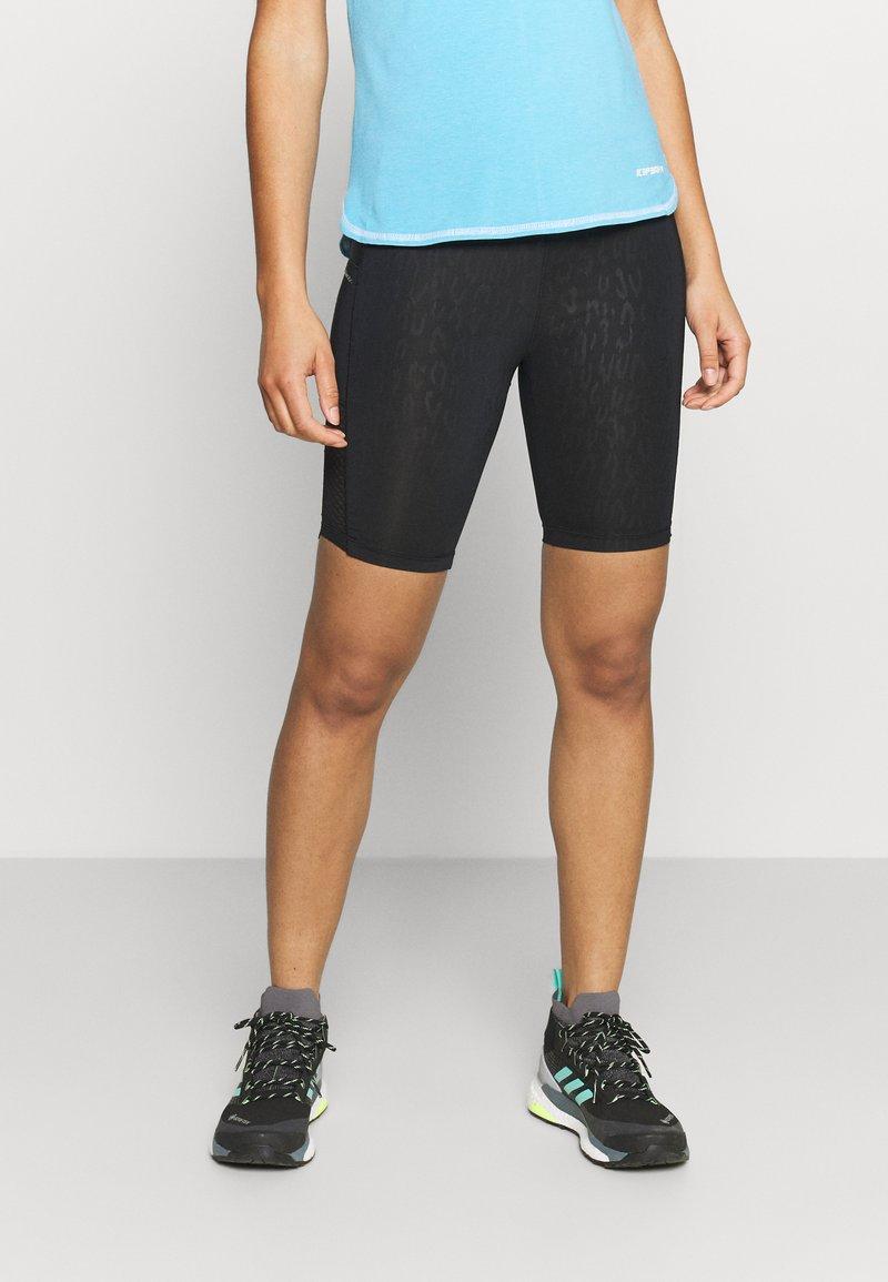 Dare 2B - SHINE BRIGHT SHORT - Leggings - black cire