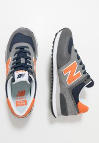 New Balance - 574 - Sneakersy niskie - grey/navy - 1