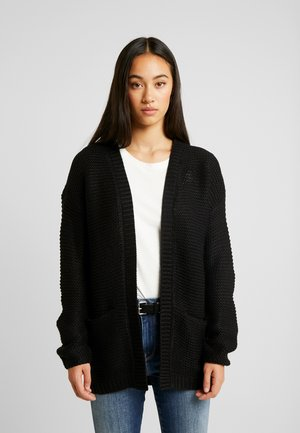 VMNO NAME - Strickjacke - black