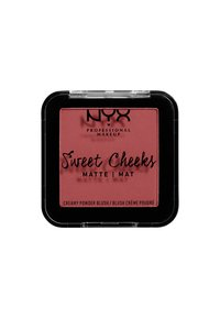 Nyx Professional Makeup - SWEET CHEEKS CREAMY POWDER BLUSH MATTE - Blusher - 04 citrine rose - 1