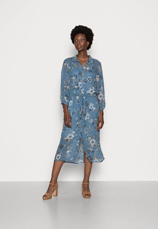 KATICA - Shirt dress - blue wallpaper