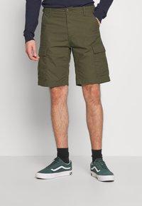 Carhartt WIP - AVIATION COLUMBIA - Shorts - cypress rinsed - 0