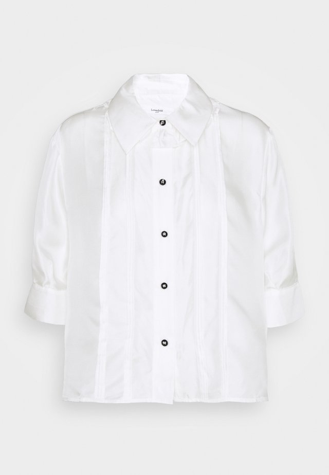 ROMA - Button-down blouse - white