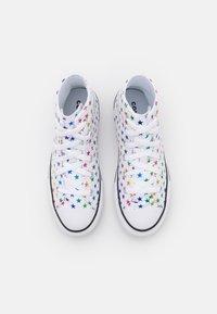 Converse - CHUCK TAYLOR ALL STAR ARCHIVE FOIL STAR PRINT UNISEX - Zapatillas altas - white/black - 3