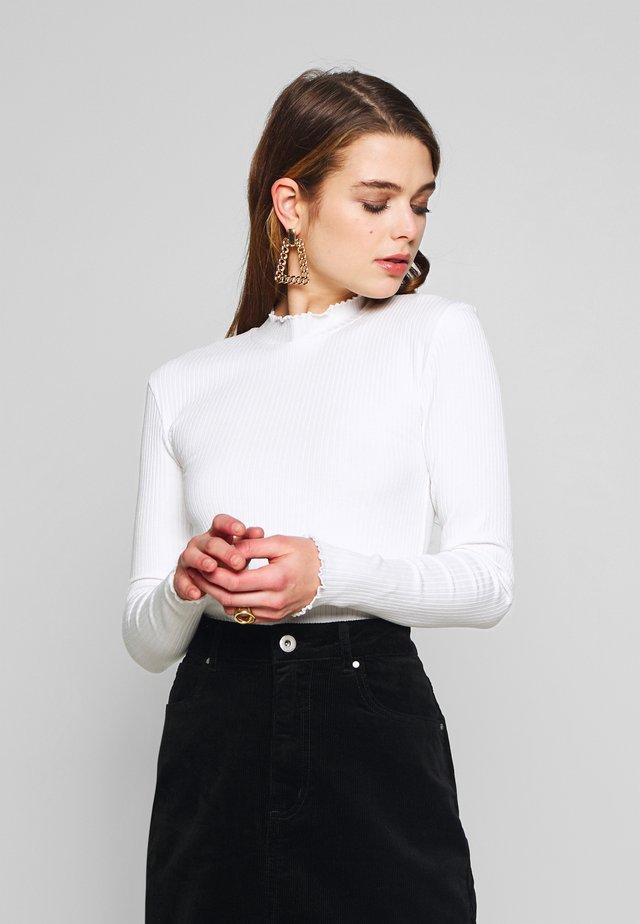 LOVE - Long sleeved top - white