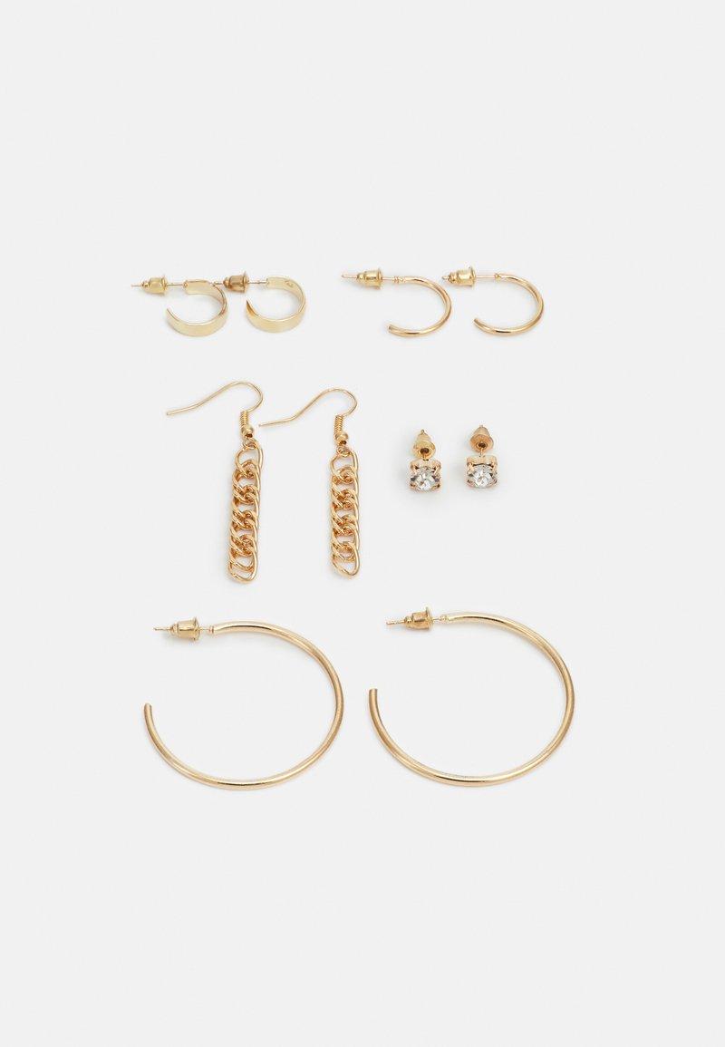 ONLY - ONLASTRID EARRINGS 5 PACK - Earrings - gold-coloured