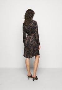 Bruuns Bazaar - ZEBRA TREE AYAN DRESS - Day dress - black - 3