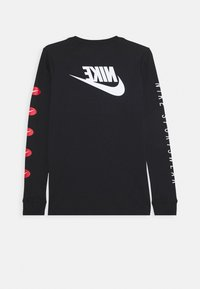Nike Sportswear - TEE FUTURA - Long sleeved top - black - 1