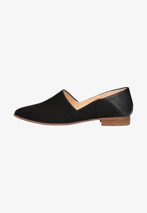 PURE TONE - Čevlji brez vezalk - black