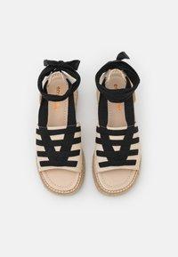 Emmshu - FORTUNE - Platform sandals - beige - 5