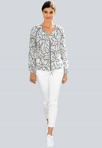 Alba Moda - Blouse - off-white,schwarz - 1