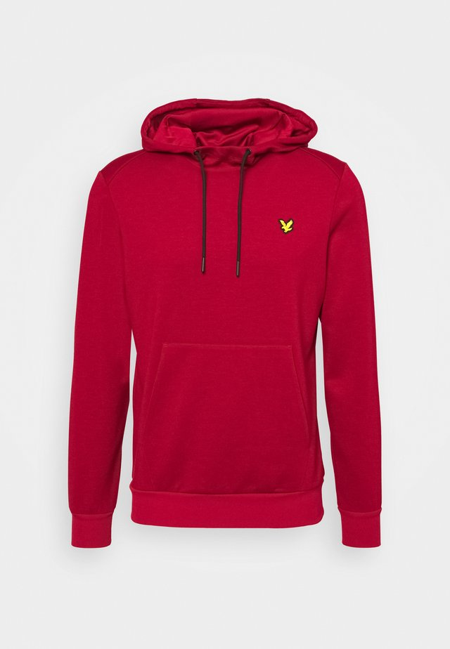 HOODIE - Jersey con capucha - ruby