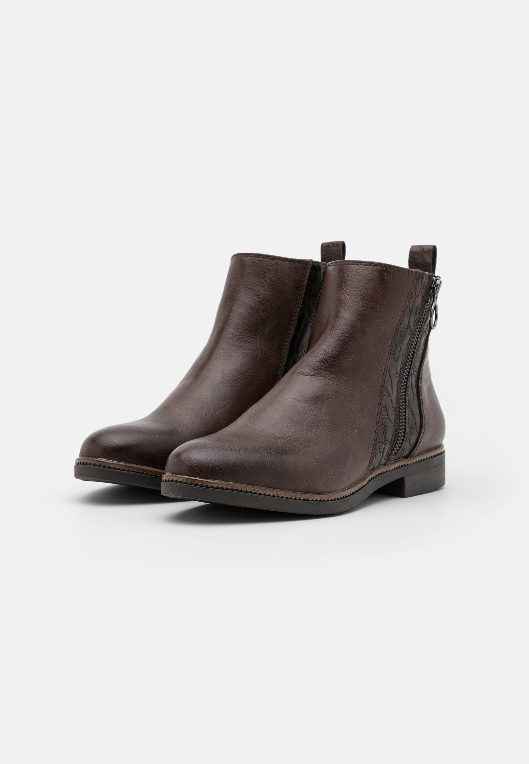 Marco Tozzi Ankle Boot cafe/braun
