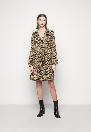 UTOPIA - Denní šaty - beige/nero