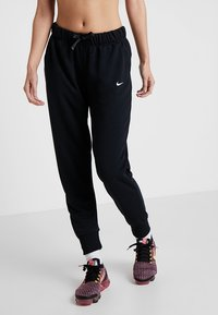 Nike Performance - DRY ALL IN PANT TAPER - Tracksuit bottoms - black/white - 0