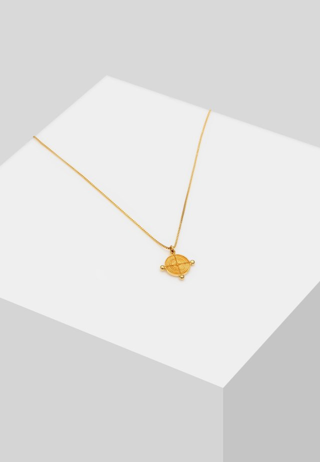 VENIZIANERKETTE PLÄTTCHEN VINTAGE - Ketting - gold-coloured