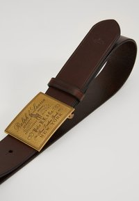 Polo Ralph Lauren - PLO HRTG BLT-CASUAL-SMOOTH LEATHER - Belt - brown - 2
