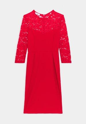 NALA DRESS - Denní šaty - red