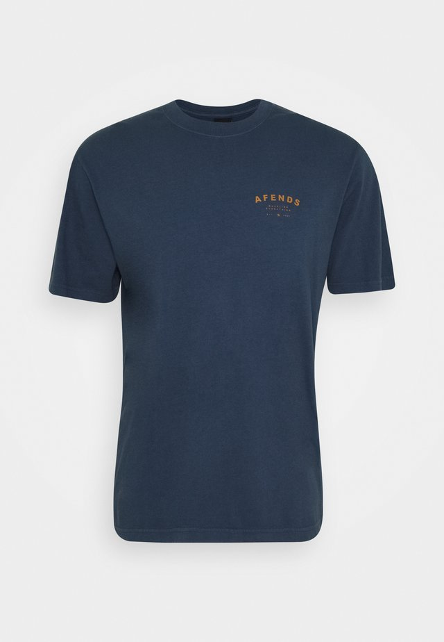 STILL HERE RETRO TEE - T-shirt basic - midnight