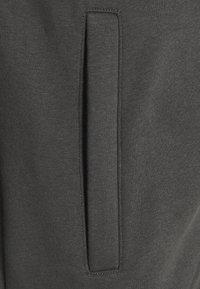 Zign - Huvtröja med dragkedja - dark grey - 2