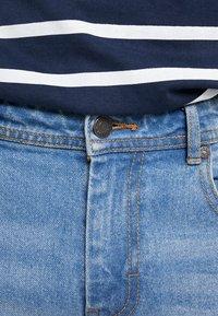 Denim Project - MR. ORANGE - Jeansshorts - heavy worn indigo - 4