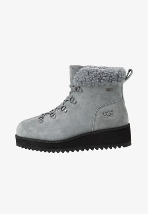 BIRCH LACE-UP - Winter boots - geyser