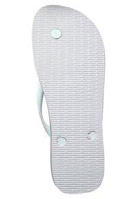 Havaianas - BRASIL LOGO - Pool shoes - white - 4
