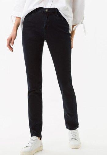 STYLE CAROLA - Straight leg jeans - dark blue