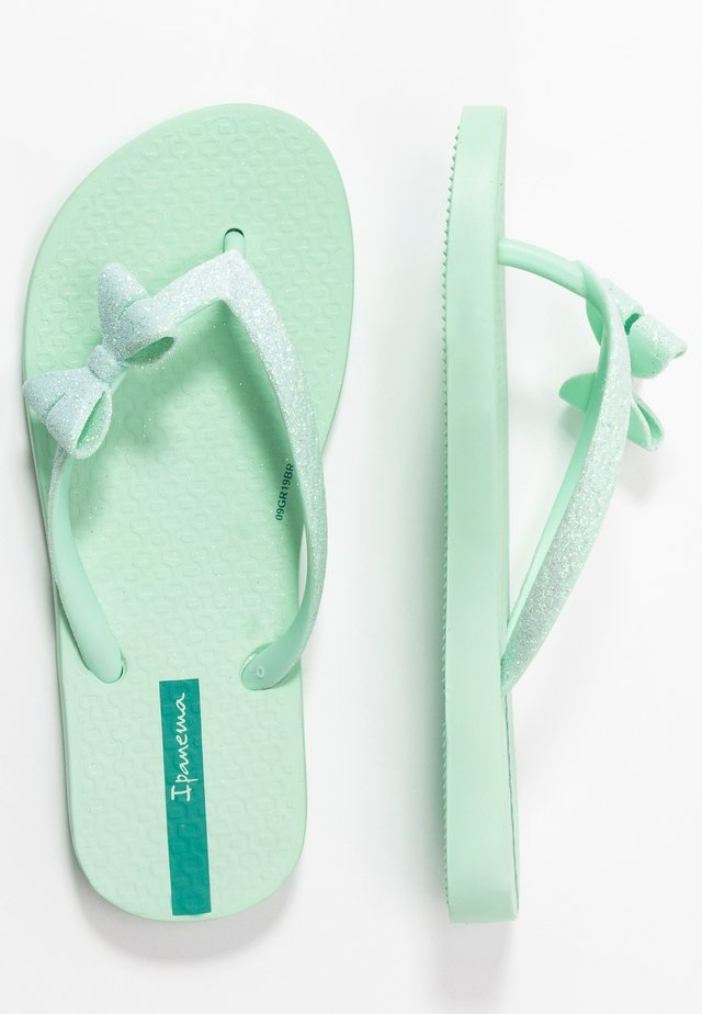 IPANEMA LOLITA IV KIDS - Tongs - green/green glitter