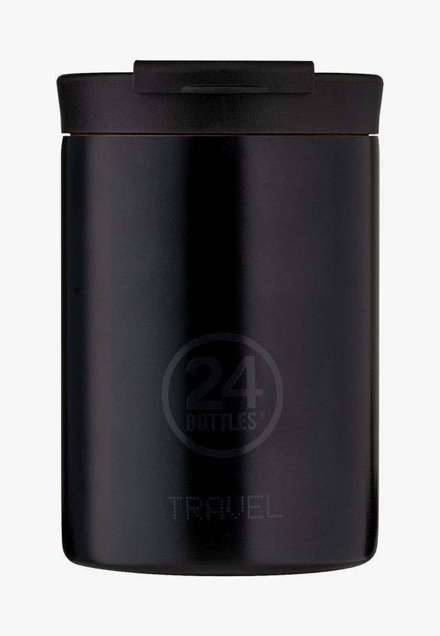 TRINKBECHER TRAVEL TUMBLER BASIC - Drink bottle - schwarz