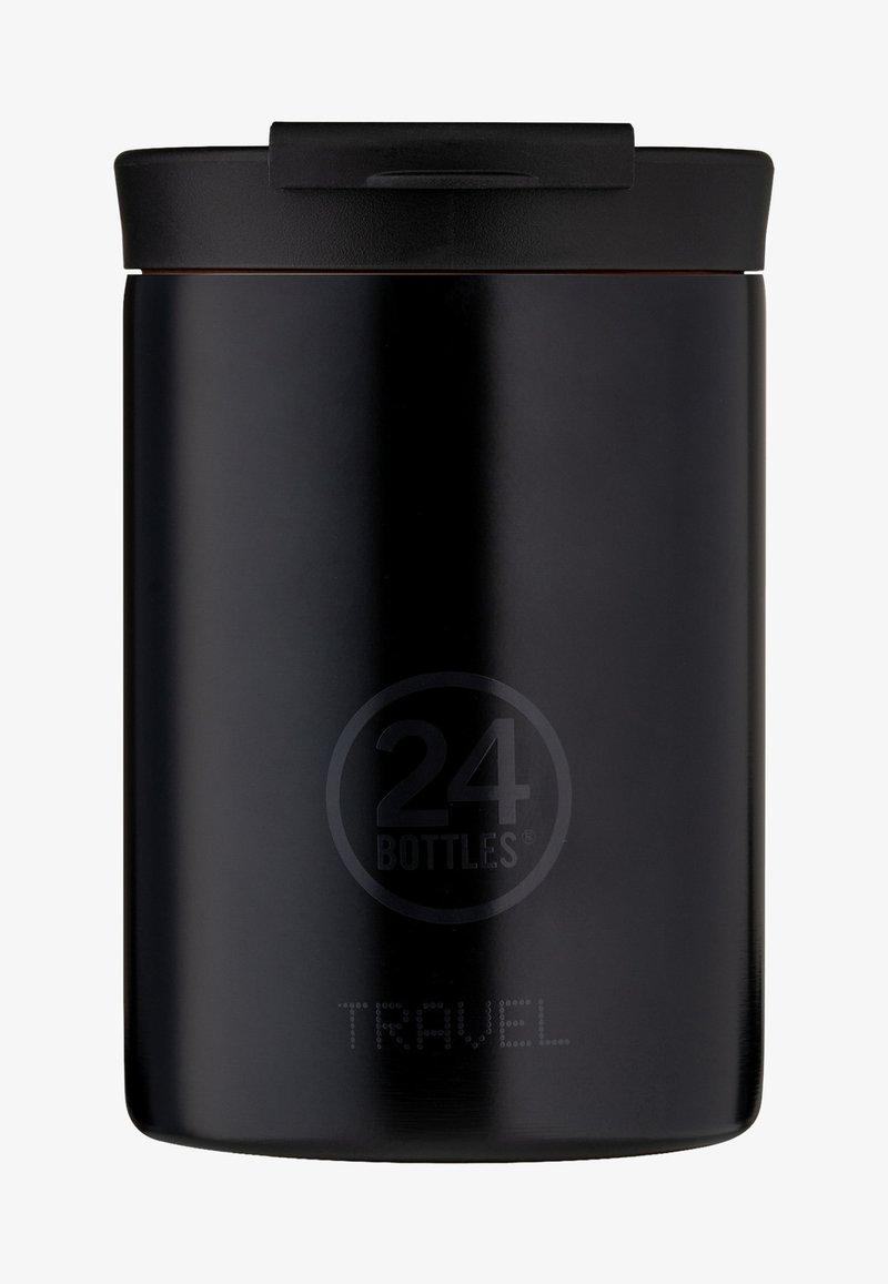 24Bottles - TRINKBECHER TRAVEL TUMBLER BASIC - Drink bottle - schwarz