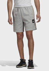 adidas Performance - MUST HAVES STADIUM SHORTS - Sports shorts - grey - 0