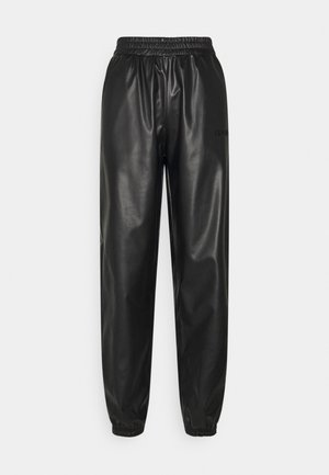 TRACK SUIT PANT - Trousers - black